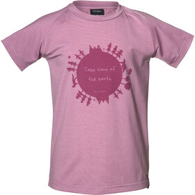 Isbjörn Earth T-shirt Enfant, dusty pink